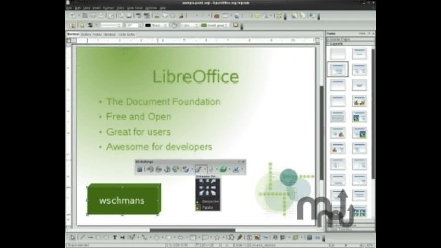 Portable LibreOffice for Mac - review, screenshots