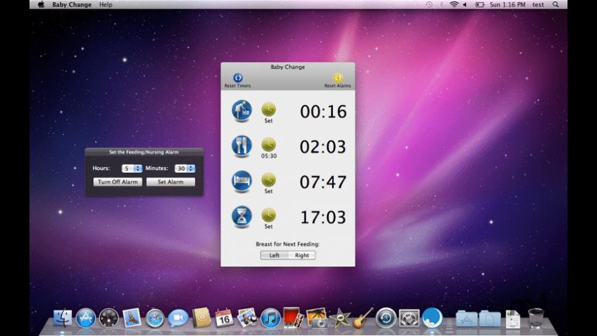 Baby Change for Mac - review, screenshots
