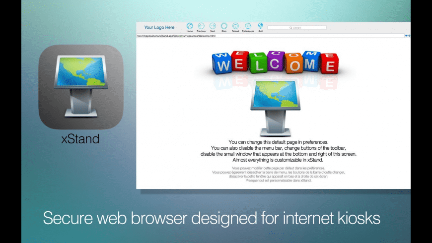 xStand for Mac - review, screenshots