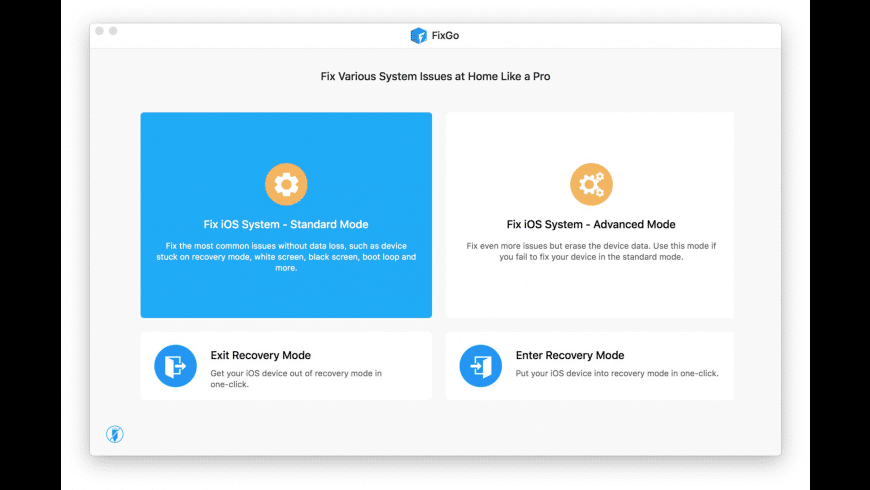 FixGo for Mac - review, screenshots
