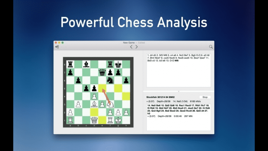 Stockfish Chess for Mac - review, screenshots