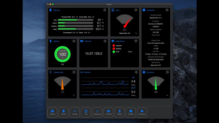xScan for Mac - review, screenshots