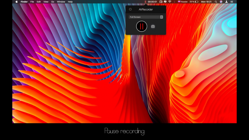 AVRecorder for Mac - review, screenshots