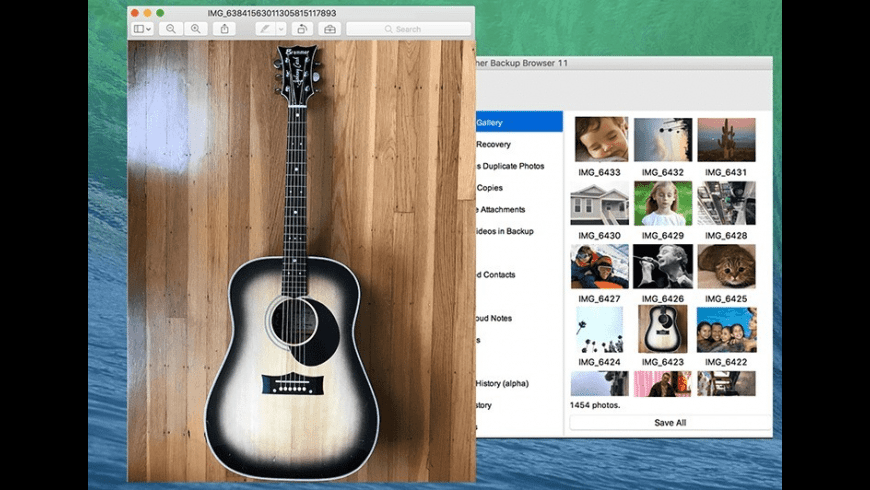 Decipher Backup Browser for Mac - review, screenshots