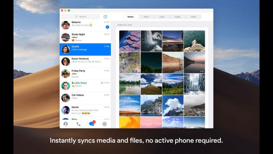 Telegram for Mac - review, screenshots