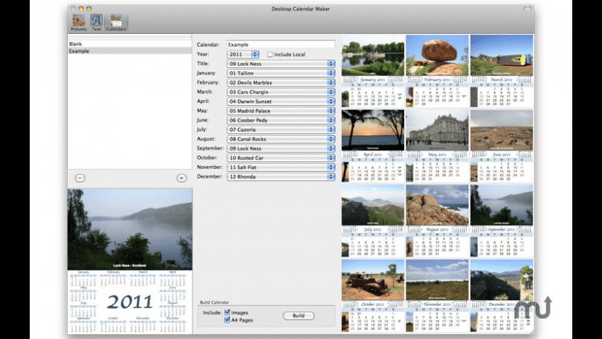 Desktop Calendar Maker For Mac Free Download Review Latest Version