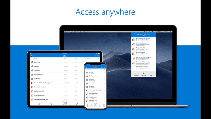 OneDrive for Mac - review, screenshots