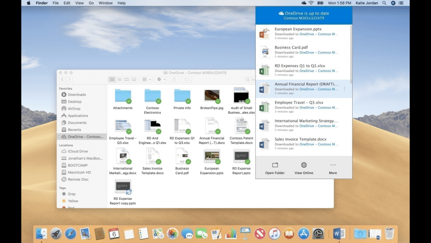 OneDrive for Mac - review, screenshots