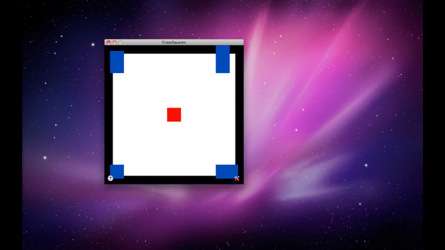 CrazySquares for Mac - review, screenshots