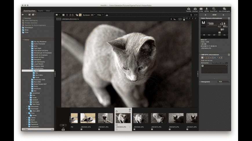 Nikon ViewNX-i for Mac - review, screenshots
