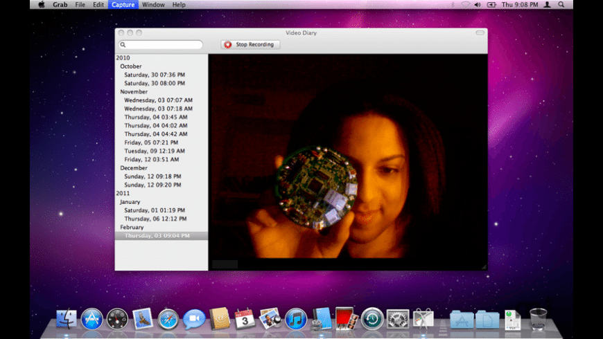 Video Diary for Mac - review, screenshots