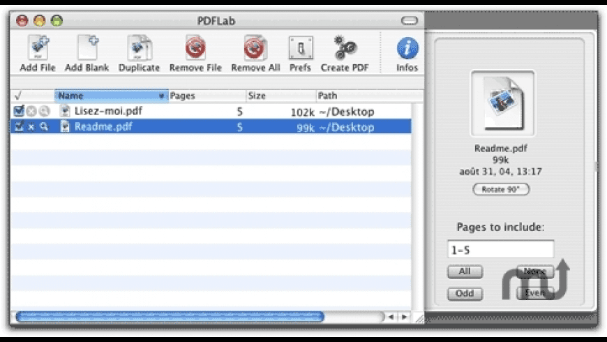PDFLab for Mac - review, screenshots