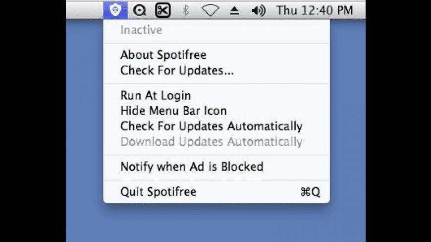 Spotifree for Mac - review, screenshots
