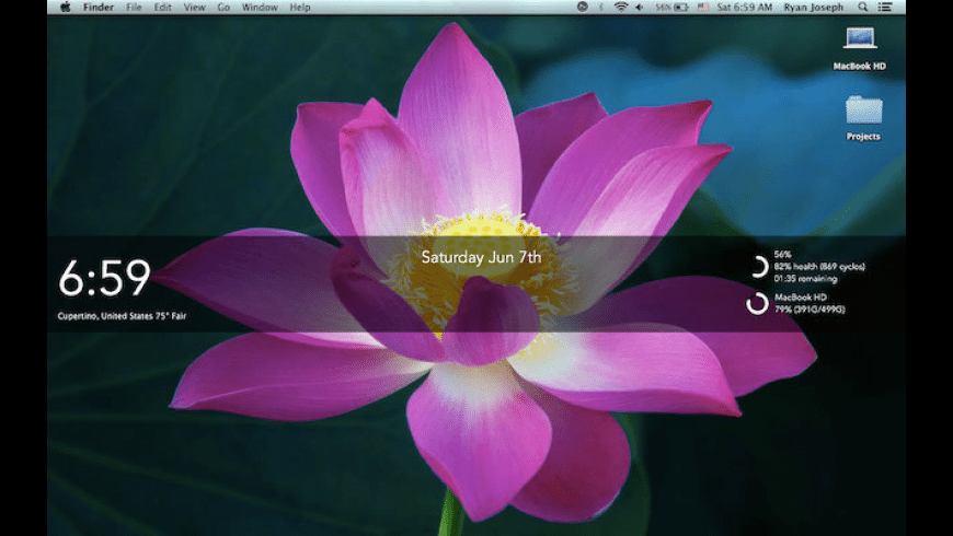 Desklets for Mac - review, screenshots