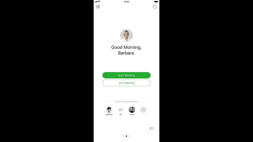 Cisco WebEx Meeting (iOS) for Mac - review, screenshots
