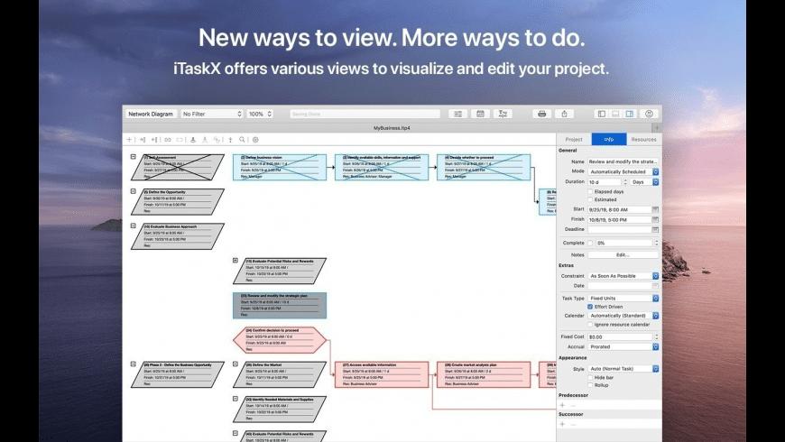 iTaskX for Mac - review, screenshots