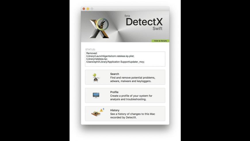 DetectX Swift for Mac - review, screenshots