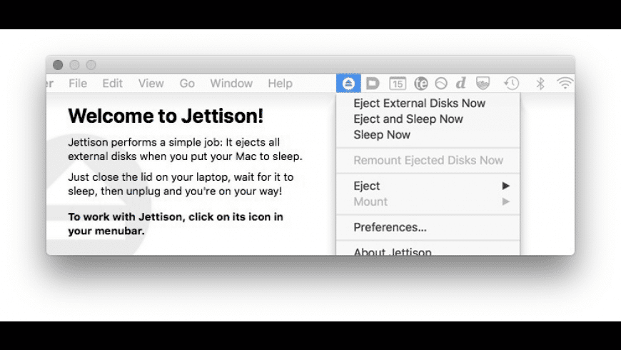 Jettison for Mac - review, screenshots