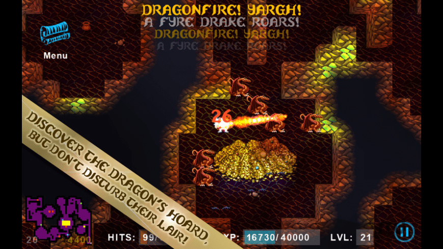 Sword of Fargoal Legends for Mac - review, screenshots