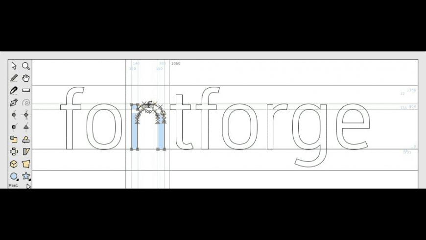 FontForge for Mac - review, screenshots