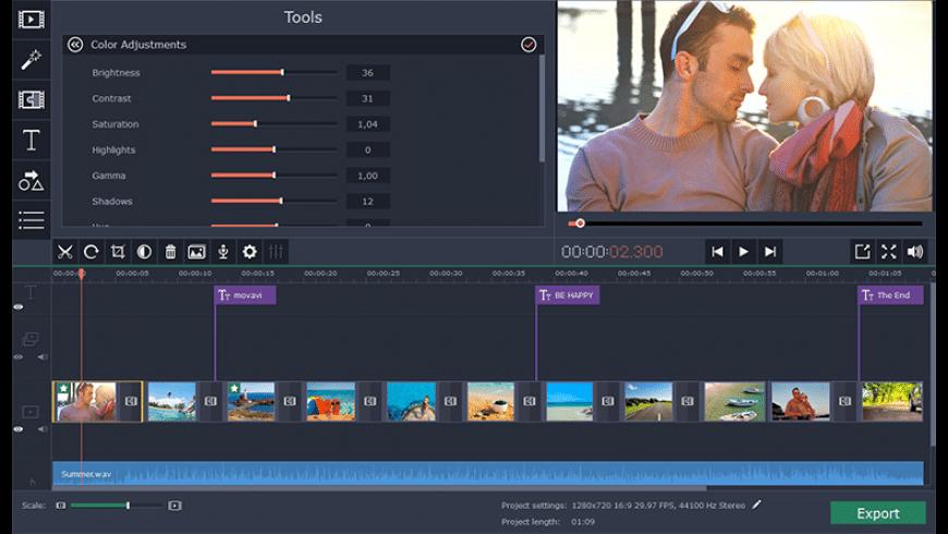 Movavi Slideshow Maker for Mac - review, screenshots