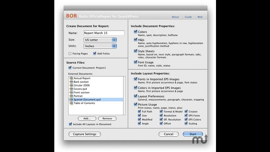 OfficialReport for Mac - review, screenshots