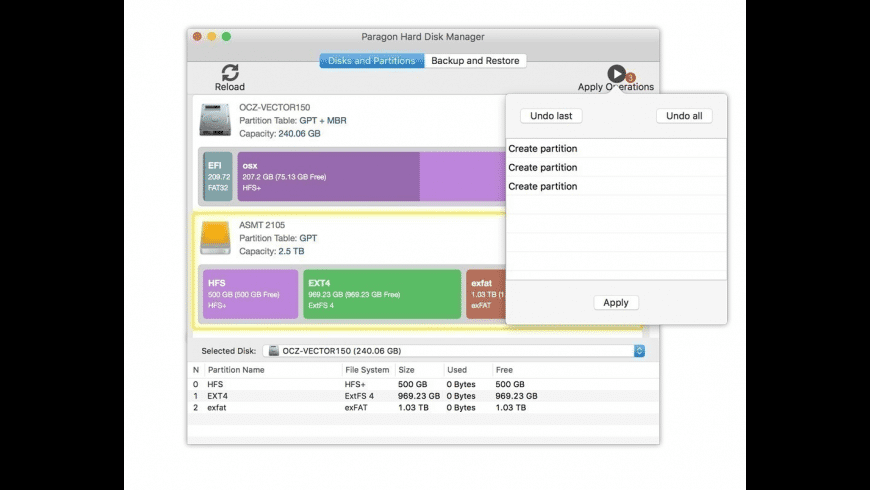 Hard Disk Manager for Mac - review, screenshots