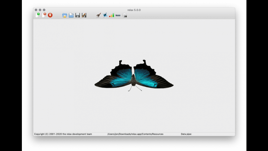 relax for Mac - review, screenshots