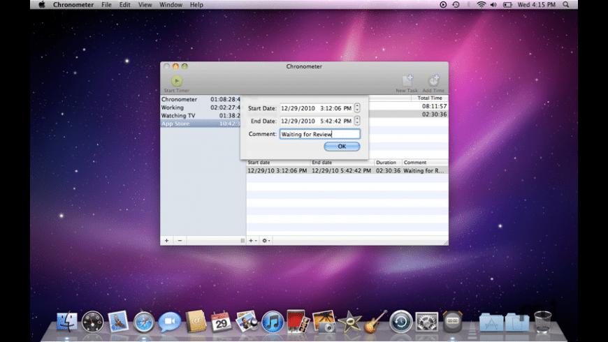 Chronos for Mac - review, screenshots
