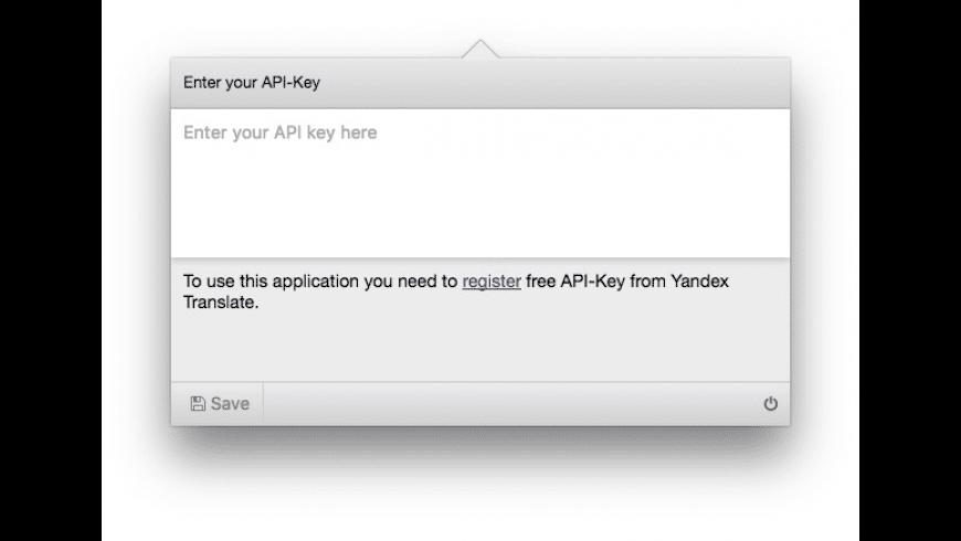 Oversetter for Mac - review, screenshots
