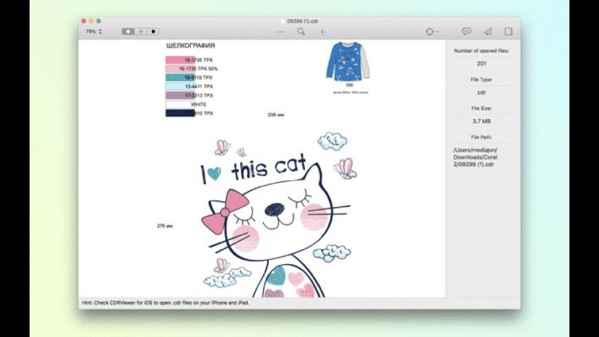 CDRViewer 3 for Mac - review, screenshots