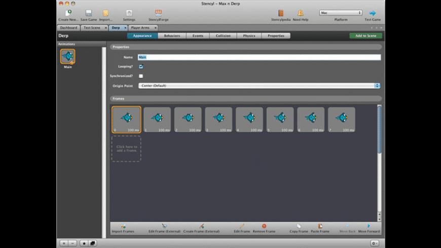 Stencyl for Mac - review, screenshots