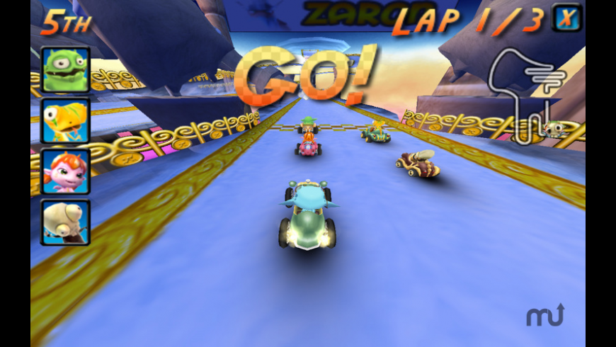 Cocoto Kart Online for Mac - review, screenshots