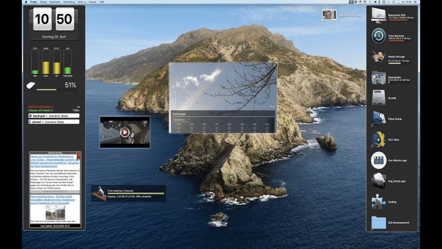 DesktopWidgets for Mac - review, screenshots