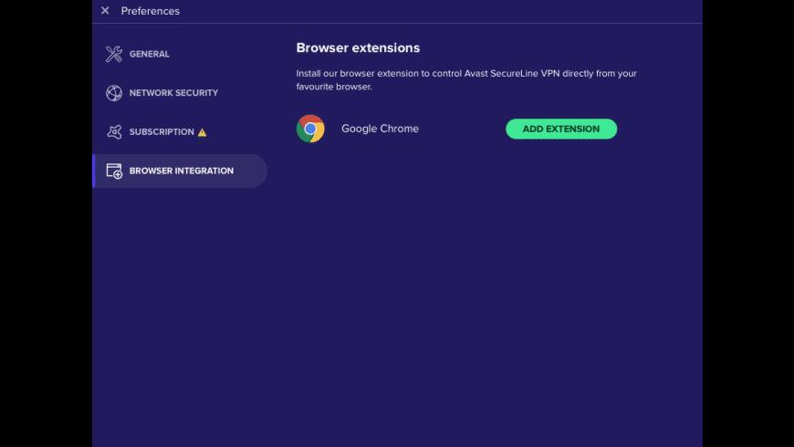 Avast SecureLine VPN for Mac - review, screenshots