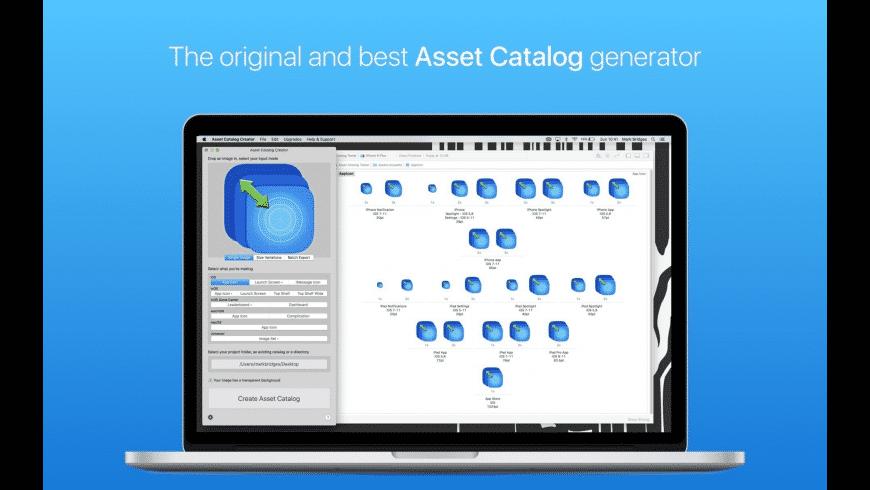 Asset Catalog Creator for Mac - review, screenshots