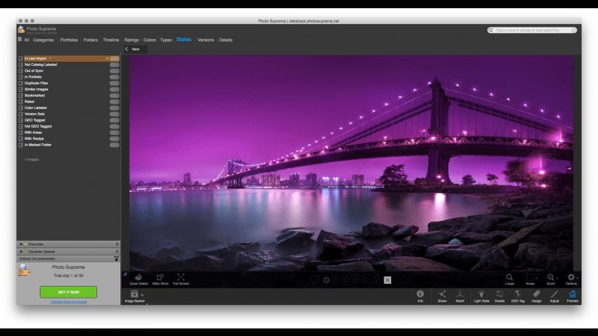 Photo Supreme for Mac - review, screenshots