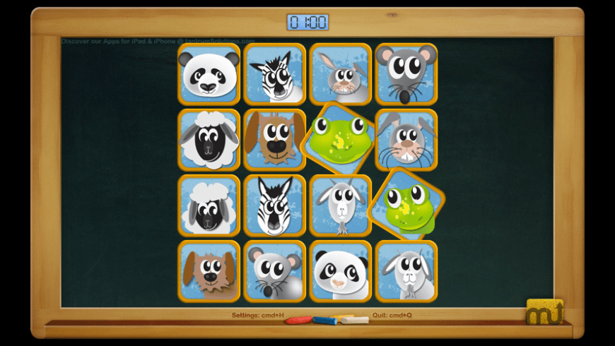 Baby Animals Match for Mac - review, screenshots