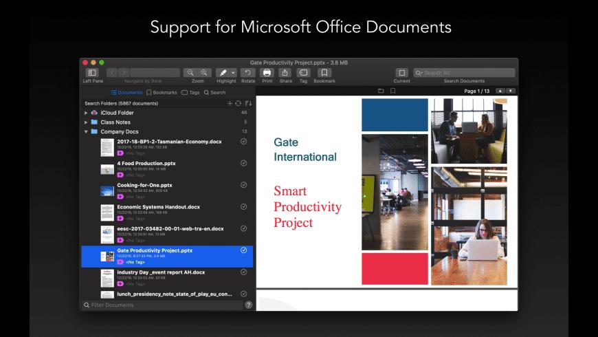 PDF Search for Mac - review, screenshots