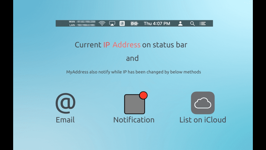 MyAddress for Mac - review, screenshots
