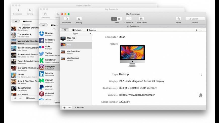 iDatabase for Mac - review, screenshots