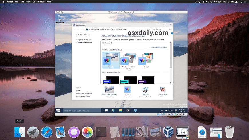 VirtualBox for Mac - review, screenshots