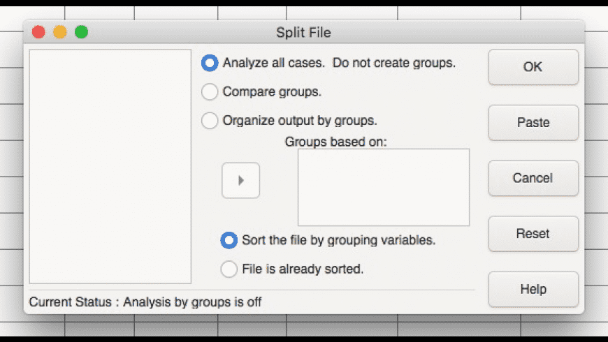 PSPP for Mac - review, screenshots