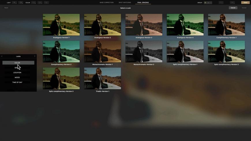 Cinema Grade for Mac - review, screenshots