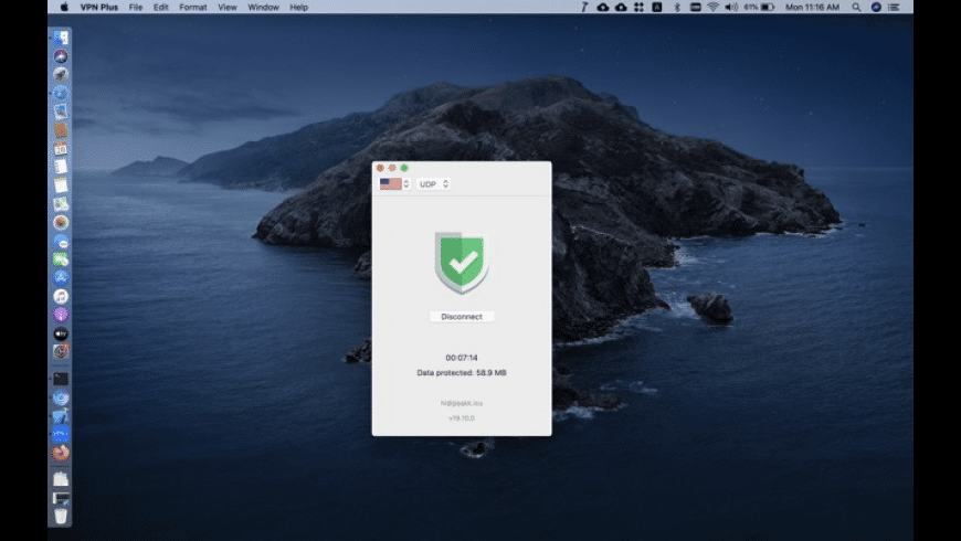 VPN Plus for Mac - review, screenshots