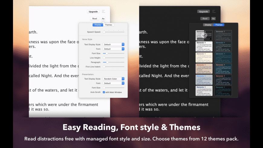 Bible for Mac - review, screenshots