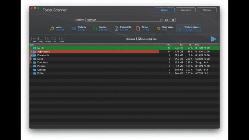 Disk Xray for Mac - review, screenshots