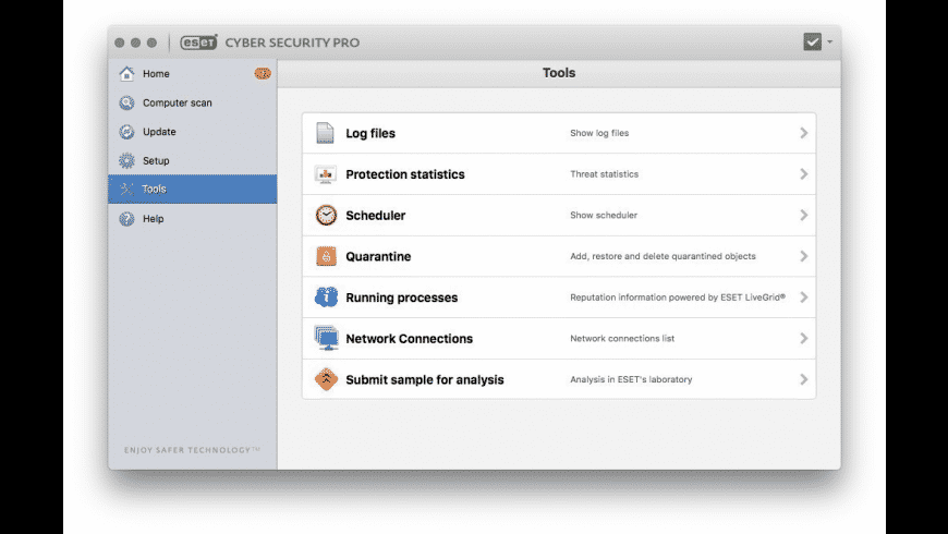 ESET Cyber Security Pro for Mac - review, screenshots