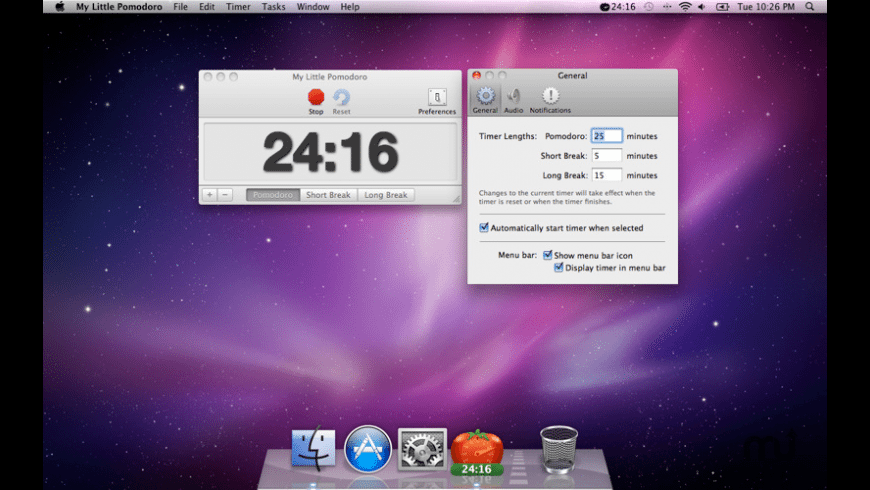 My Little Pomodoro for Mac - review, screenshots