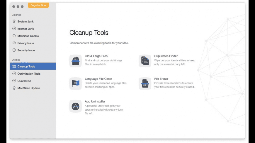 MacClean for Mac - review, screenshots